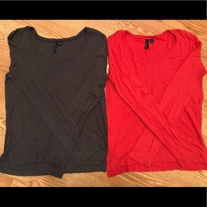 Bundle 2 long sleeve shirts